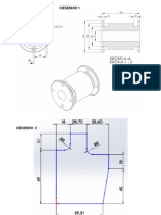 Exercícios SolidWorks