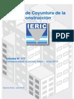 Informe de Coyuntura de la industria de la construcción julio 2015