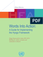 A Guide for Implementing the Hyogo Framework