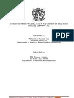 Anw Internship Report FINAL