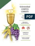 07-06-2015 Comunion Parroquia Don Bosco