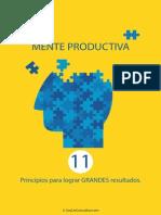 Mente Productiva - 11 principios para lograr GRANDES resultados