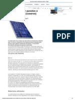 Como Construir Paneles o Celdas Solares (Caseros)