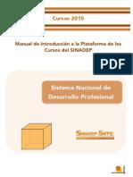 Manual de Introducción a la Plataforma de los Cursos del SINADEP