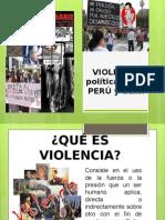 Violencia en El Perú