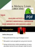 BM_Lisan_pwpt[1] edited Bersyarah/Berbahas