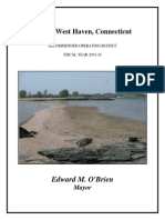 City of West Haven, CT 2016 Budget