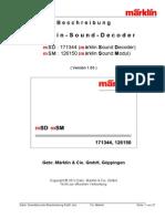 Marklin Sounddecoder Beschreibung Rel01