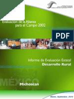 Informe de Evaluacon Estatal Michacan 2002