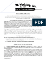 privacy practices notice 2013