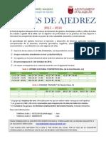 Escuela de Ajedrez Alaquas 15-16