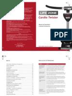 Cardio Twister Manual