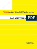 B-65160e Fanuc Ac Spindle Motor Parameter Manual