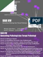 Kode Etik Psikologi Indonesia - BAB XIV