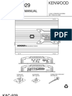 KAC-929 Service Manual