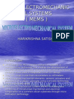 Microelectromechanic Al Systems ( Mems )