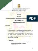 Investigacion Teorica Abstracta y Cualitativa en Soc-ACHA