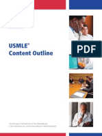UsMle Content Outline