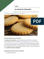 Galletas Caseras de Mantequilla - Recetasgratis.net