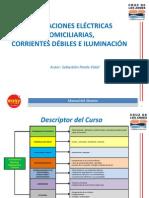 Circuitos Eléctricos Domiciliarios, Corrientes Débiles e Iluminación 24.07.14