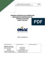 CEA-Criterios CSG ONAC Rev Consulta Pública