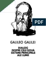 Galileo Galilei - Dialog despre cele doua sisteme principale ale lumii