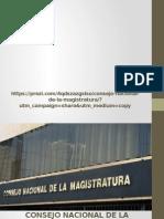 diapositivasconsejonacionaldelamagistratura-140821235210-phpapp01