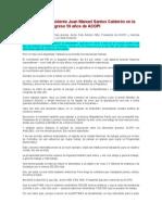 Sep.27.2010 - Palabras Del Presidente Juan Manuel Santos Calderón en La Clausura Del Congreso 59 Años de ACOPI