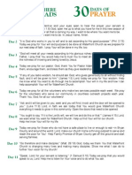 30 Day Prayer Guide