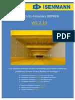 PANELES DE POLIURETANO  WS 2.10