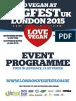 London Vegfest - Event Programme