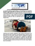 PAPA FRANCISCO PIDE URGENTE A EUROPA ABRAN PUERTAS A PERSEGUIDOS