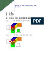 Fórmulas Para El Cubo Rubik Medios