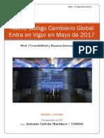 Nuevo Código Cambiario Global Para 2017