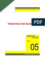 Detalhamento Tesouras de Madeira