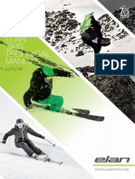 Elan Skis Technical Manual 2015/2016