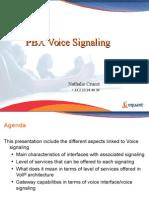 PBX Signaling