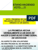 05 El Cristiano Haciendo Voto