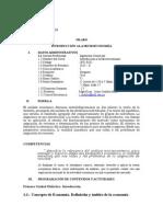 SILABO de Introducción a La Microeconomía Ingeniería Comercial UDL 2015 - II