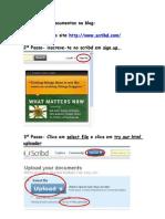 Como Inserir Documentos No Blog