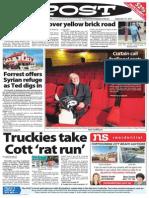 POST Newspaper for 12th of September, 2015