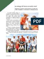13.10.2013 Comunicado Inicia Esteban Entrega de Becas en Medio Rural