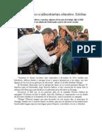 15.10.2013 Comunicado Apoyo Histórico a Infraestructura Educativa Esteban