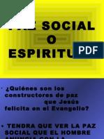 21 Paz Social o Espiritual