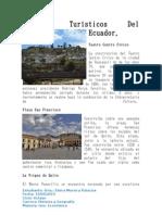 Centrales Termicas  y lugares turisticos del Ecuador
