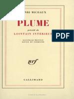 Henri Michaux - Plume