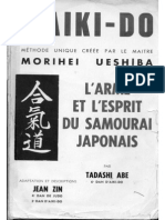 L Aiki-do - L Arme Et l Esprit Du Samourai Japonais - Tadashi Abe
