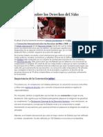 Convención Sobre Los Derechos Del Niño Actual