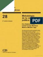 Metodología de la ciencia política - Eva Anduiza, Ismael Crespo, Mónica Menendez (2009).pdf