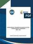 Tipologias de Lavado de Activos y Financiacion Del Terrorismo 2004 - 2013